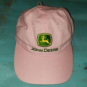 John Deere Pink Hat NWOT